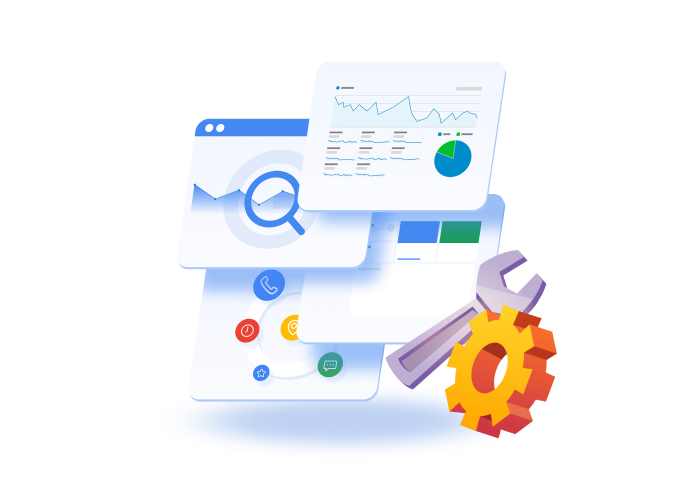 Pakiet Google: Analytics, Search Console, Tag Manager, My Business